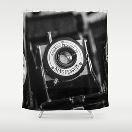 Classic Cameras. Shower Curtain
