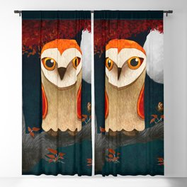 Deep in the Night, Owl Eyes Bright Blackout Curtain