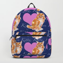 Here Kitty Kitty Backpack