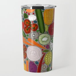 the good stuff taupe Travel Mug