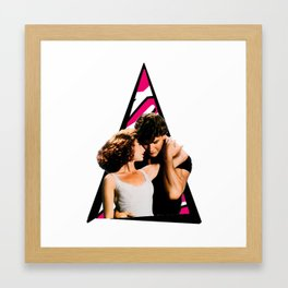 Youtriangle ∆ Dirty dancing Framed Art Print