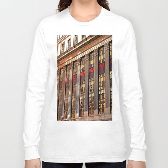 Downtown Reflections Long Sleeve T-shirt