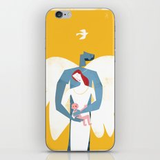 New Christmas Family in Yellow iPhone & iPod Skin