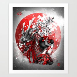 Kokoro Art Print
