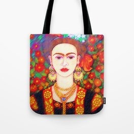 My other Frida Kahlo with butterflies Tote Bag