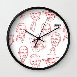 Hank's favorite Hanks Wall Clock