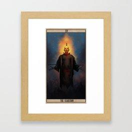 The Scarecrow Tarot Framed Art Print