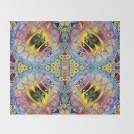 Phantasmagorical Microscopy Throw Blanket