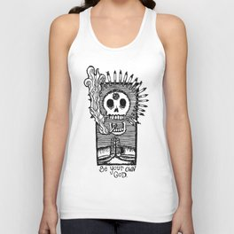 Be Your Own God. Unisex Tank Top