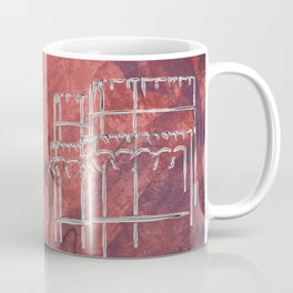 A la luna de Valencia  - Red Coffee Mug