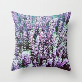 flower photography by Božo Radić Throw Pillow