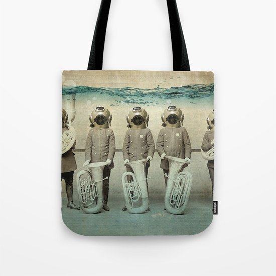 the diving bell Tuba quintet Tote Bag