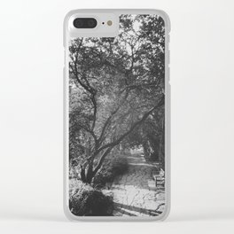 English Country View Clear iPhone Case