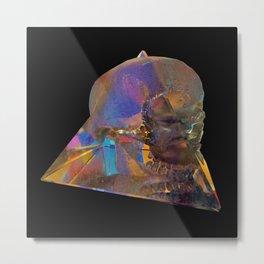 Crystal_Head Metal Print