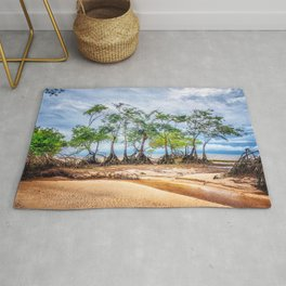 Trees in Line Rug