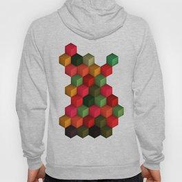 3D Cubes  Hoody