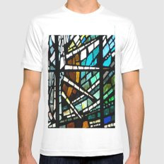 Son Rise MEDIUM Mens Fitted Tee White