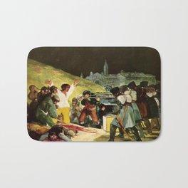 The Third Of May 1808 By Francisco Goya Bath Mat