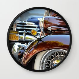 Blvd Vets Wall Clock