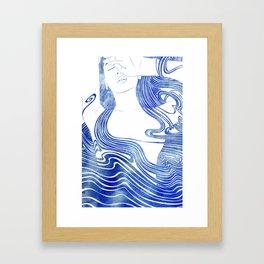 Galene Framed Art Print