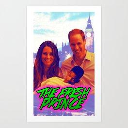 The Fresh Prince Art Print