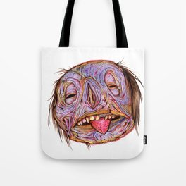 Rotten Head - Putrid Purple Tote Bag