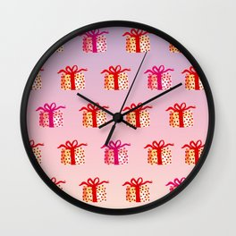 Watercolor Lovely Gift Wall Clock