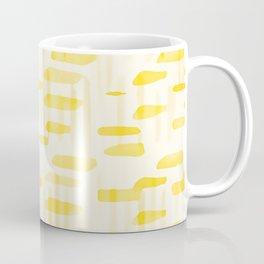 Sun Rays Watercolor Pattern Coffee Mug