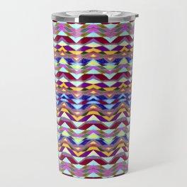 Ethnic Colorful Pattern Travel Mug
