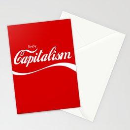 Enjoy Capitalism Stationery Cards