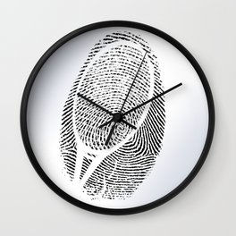 Fingerprint of a player Wall Clock