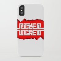 swag iPhone & iPod Cases featuring Red Swag by Azeez Olayinka Gloriousclick