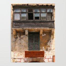 Valetta Windows Poster