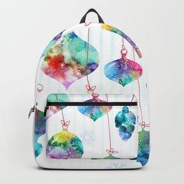 xmas ornaments Backpack