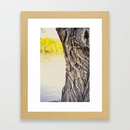 Look to the water Framed Art Print