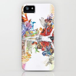 The Axis Mundi  iPhone Case