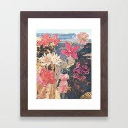 Desert Blooms Framed Art Print