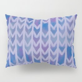 Chevron Cool-Toned Pattern Pillow Sham