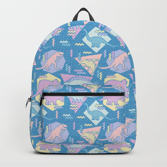 Nineties Dinosaurs Pattern  - Pastel version Backpack