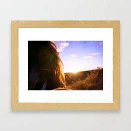 Zon Framed Art Print
