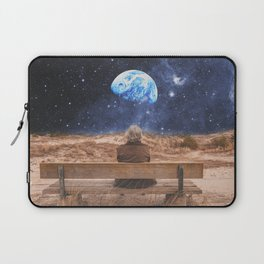 PLANET EARTH, THE UNIVERSE AND I Laptop Sleeve