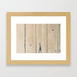 Old Painted Wall Framed Art Print