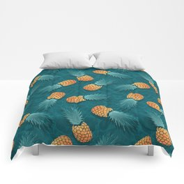 Pineapples swimmers I Comforters