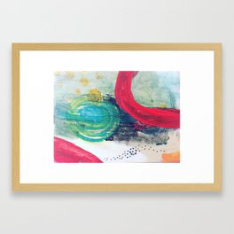 Birthing women Framed Art Print