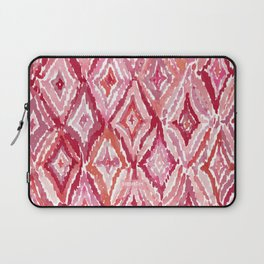 Red BRIGHT LIKE A DIAMOND Moroccan Print Laptop Sleeve
