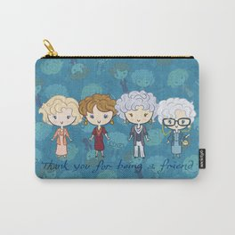 thank you for being a friend Carry-All Pouch