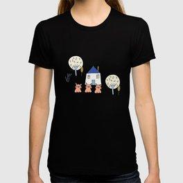 Tree Little Pigs Pearl T-shirt