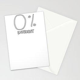 0% Interest Stationery Cards