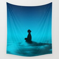 cloud Wall Tapestries featuring Cloud Rider Star Series by Stoian Hitrov - Sto