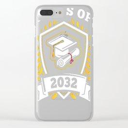 Class-of-2032---Class-of-2032-Graduation-T-Shirt---Sao-chép Clear iPhone Case